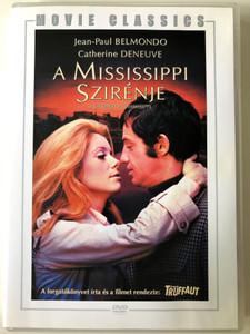 Mississippi Mermaid DVD 1969 A mississippi szirénje - La Siréne du mississippi / Directed by Francois Truffaut / Starring: Jean-Paul Belmondo, Catherine Deneuve (5999546333350)