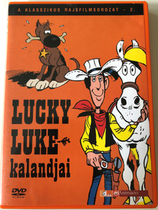Lucky Luke TV Series Vol 2 DVD 1983 Lucky Luke kalandjai 2. / Directed by Joseph Barbera, William Hanna / Starring: William Callaway, Rick Dees, Bob Holt, Mitzi McCall / 4 episodes (5999544243033.)
