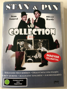 Stan Laurel & Oliver Hardy Collection 2 DVD 1923 Stan & Pan Collection 2. Rész / Directed by George Jeske, Hal Rocah, Larry Semon, Noel Smith / Starring: Stan Laurel, Oliver Hardy (5999551920651)