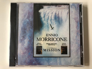 Ennio Morricone - Original Soundtrack from the film - The Mission (Robert De Niro, Jeremy Irons) / Performed by the London Philharmonic Orchestra / Virgin Records Audio CD 1986 / CDV 2402 (0077778600121)