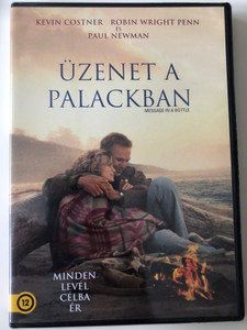 Message in a bottle DVD 1999 Üzenet a palackban / Directed by Luis Mandoki / Starring: Kevin Costner, Robin Wright Penn, John Savage (5996514010848)