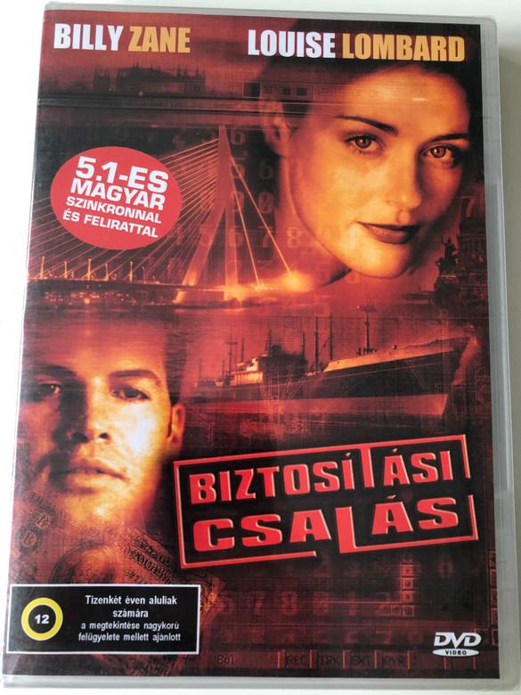 Claim DVD 2002 Biztosítási Csalás / Directed by Martin Lagestee / Starring: Billy Zane, Louise Lombard (5999544560475)