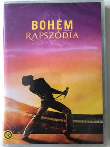 Bohemian Rhapsody DVD 2018 Bohém Rapszódia / Directed by Bryan Singer / Starring: Rami Malek, Lucy Boynton, Gwilym Lee, Ben Hardy / Biographical drama film (8590548617089)