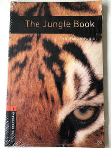 The Jungle Book by Rudyard Kipling / Oxford bookworms series Stage 2-700 headwords / Audio CD Pack / Text adaptation by Ralph Mowat (9780194790260)