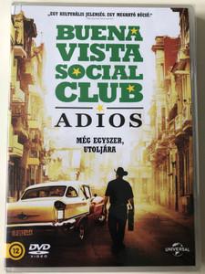 "Buena Vista Social Club - Adios DVD 2017 Buena Vista Social Club - Még egyszer, utoljára / Directed by Lucy Walker / Featuring: Omara Portuondo, Jesus ""Aguaje"" Ramos, Manuel ""Guajiro"" Mirabal (8590548615153)"