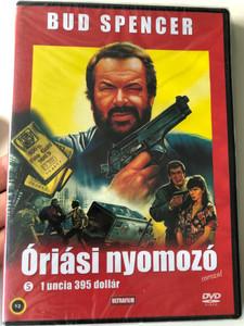 Big Man: $ 395 an Ounce DVD 1988 Óriási Nyomozó: 1 uncia 395 dollár / Directed by Steno / Starring Bud Spencer / Az eredeti Bujtor István-Szinkronnal! (5999882817439)