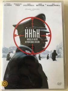 The man with the iron heart - HHhH DVD 2017 Himmler agyát Heydrichnek hívják / Directed by Cédric Jimenez / Starring: Jason Clarke, Rosamund Pike, Jack O'Connell, Jack Reynor (8590548615191)