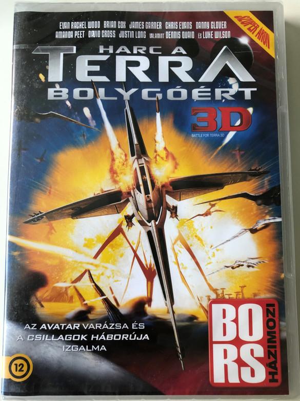 Battle for Terra 3D DVD 2007 Harc a Terra bolygóért / Directed by Aristomenis Tsirbas / Starring: Evan Rachel Wood, Brian Cox, James Garner, Chris Evans, Danny Glover (5999075603979)