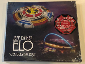 Jeff Lynne's ELO – Wembley Or Bust / Live At Wembley Stadium! / Recorded on June 24th, 2017 / Featuring ''Evil Woman'', ''Mr. Blue Sky'', ''Turn to Stone'' / Big Trilby Records 2x ‎Audio CD 2017 / 88985492202