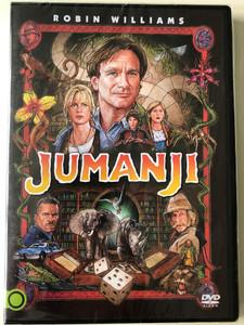 Jumanji DVD 1995 / Directed by Joe Johnston / Starring; Robin Williams, Kirsten Dunst, David Alan Grier, Bonnie Hunt (5948221412453)