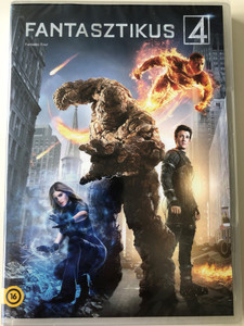 Fantastic Four DVD 2015 Fantasztikus 4 / Directed by Josh Trank / Starring: Miles Teller, Michael B. Jordan, Kate Mara, Jamie Bell / Fant4stic (8596978600530)