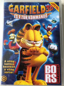 Garfield's pet force 3D DVD 2009 Garfield és a Zűr Kommandó 3D / Directed by Mark A.Z. Dippé, Kyung Ho Lee / Starring: Frank Welker, Gregg Berger, Audrey Wasilewski (5999075603924)