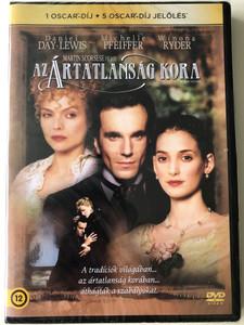 The Age of Innocence DVD 1993 Az ártatlanság kora / Directed by Martin Scorsese / Starring: Daniel Day-Lewis, Michelle Pfeiffer, Winona Ryder (5948221413276)