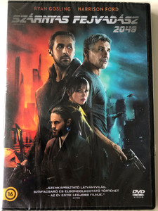 Blade Runner 2049 DVD 2017 Szárnyas Fejvadász 2049 / Directed by Denis Villeneuve / Starring: Ryan Gosling, Harrison Ford (5948221413078)