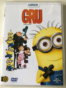 Despicable Me DVD 2010 Gru / Directed by Pierre Coffin, Chris Renaud / Starring: Steve Carell, Jason Segel, Russell Brand, Kristen Wiig (8590548601347)