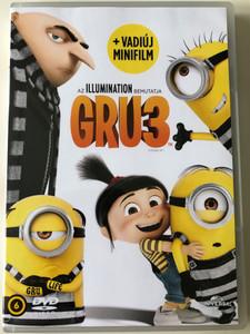 Despicable Me 3 DVD Gru 3 / Directed by Pierre Coffin, Kyle Balda / Starring: Steve Carell, Kristen Wiig, Trey Parker, Miranda Cosgrove (8590548614972)