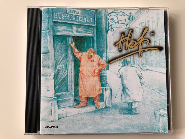 Hofi - Hús-mentesárú / Hungaroton Audio CD 2002 / HCD 17715 / Recorded in 1982 / Hungarian Comedy by Géza Hofi (5991811771522)