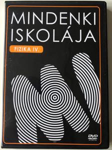 Mindenki Iskolája - Fizika 4 DVD 2007 Everyone's School - Hungarian Physics Video Classes / Magyar Vizuális Oktatási Portál - Sprinter Kiadói Csoport / Educational DVD (5999883131145)