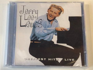 Jerry Lee Lewis – Greatest Hits Live / Elap Audio CD 2000 / 5706238310823