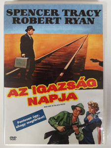 Bad Day at Black Rock DVD 1954 Az igazság napja / Directed by John Sturges / Starring: Spencer Tracy, Robert Ryan, Anne Francis, Dean Jagger (5999010458817)