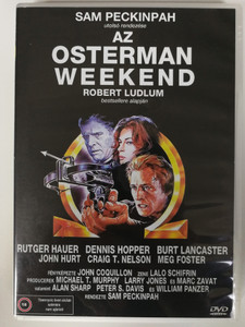 The Osterman Weekend DVD 1983 / Directed by Sam Peckinpah / Starring: Rutger Hauer, Dennis Hopper, Burt Lancaster, John Hurt