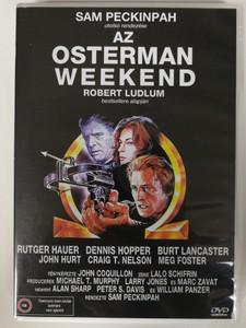 The Osterman Weekend DVD 1983 / Directed by Sam Peckinpah / Starring: Rutger Hauer, Dennis Hopper, Burt Lancaster, John Hurt