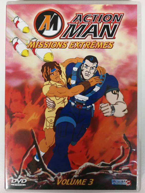 Action man - Missions Extrémes DVD Volume 3 / Episodes: La Civilisation Perdue, Balades Dans L'Espace, Soldat D'Acier / EDV1002 (3583126793218)