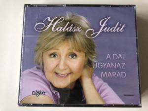 Halász Judit – A Dal Ugyanaz Marad / Reader's Digest 4x Audio CD 2009 / Hívd a nagymamát! / Szeresd a testvéred! / Minden felnőtt volt egyszer gyerek / Rendkívüli gyereknap (RM-CD09093-B)