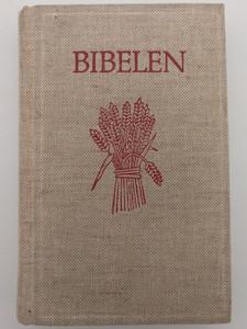 Bibelen - Den Hellige Skrift - Norwegian Holy Bible / Det Gamle og det nye testamente / Bibelselskapets Forlag 1985 / Textile cover - 2nd printing (8254102082)