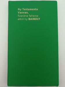 Ny Testamenta Vaovao, fizrána faharoa amin'ny BAIBOLY / Malagasy language New Testament / Green PVC cover / Fikambanana Mampiely Baiboly Malagasy (2879074304)
