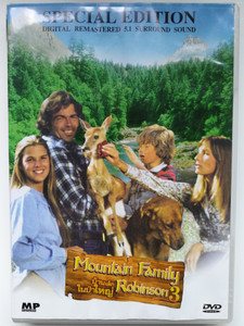Mountain Family Robinson DVD 1979 AKA The Adventures of the Wilderness Family 3 / Thai release / Directed by John Cotter / Starring: Robert Logan, Susan Damante-Shaw, George Buck Flower / Special Edition 5.1 Surround sound (MountainFamilyRobinsonDVD)
