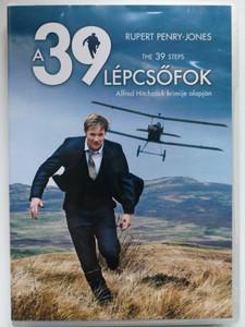 The 39 Steps DVD 2008 A 39 Lépcsőfok / Directed by James Hawes / Starring: Rupert Penry-Jones, Lydia Leonard, David Haig, Eddie Marsan (5999546334456)