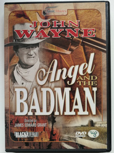 Angel and the Badman DVD 1947 / Directed by James Edward Grant / Starring: John Wayne, Gail Russell, Harry Carey, Bruce Cabot / Western classic (8712155087349)
