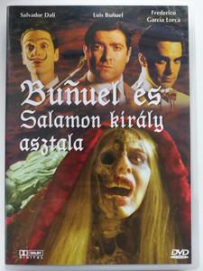 Buñuel y la mesa del rey Salomón DVD 2001 Buñuel és Salamon király asztala / Directed by Carlos Saura / Starring: El Gran Wyoming, Pere Arquillué, Ernesto Alterio, Adrià Collado / Bunuel and King Solomon's Table (5999881767056)