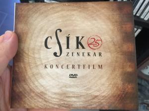 Csík Zenekar – 25 - Koncertfilm / Fonó Budai Zeneház DVD CD 2015 / 5998048537433