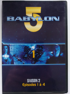 Babylon 5 DVD 1 Season 2 / French Release - Episodes 1-4 / Saison 2 - Episodes 1 á 4 / Created by J. Michael Straczynski / Starring: Bruce Boxleitner, Michael O'Hare, Claudia Christian, Jerry Doyle (7321950241620)