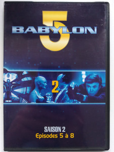 Babylon 5 DVD 2 Season 2 / French Release - Episodes 5-8 / Saison 2 - Episodes 1 á 4 / Created by J. Michael Straczynski / Starring: Bruce Boxleitner, Michael O'Hare, Claudia Christian, Jerry Doyle (7321950241637)