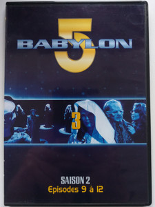 Babylon 5 DVD 3 Season 2 / French Release - Episodes 9-12 / Saison 2 - Episodes 9 á 12 / Created by J. Michael Straczynski / Starring: Bruce Boxleitner, Michael O'Hare, Claudia Christian, Jerry Doyle (7321950241644)