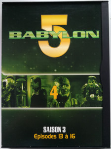 Babylon 5 DVD 4 Season 3 / French Release - Episodes 13-16 / Saison 3 - Episodes 13 á 16 / Created by J. Michael Straczynski / Starring: Bruce Boxleitner, Michael O'Hare, Claudia Christian, Jerry Doyle (7321950274581)