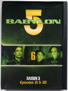 Babylon 5 DVD 6 Season 3 / French Release - Episodes 21 - 22 / Saison 3 - Episodes 21 & 22 / Created by J. Michael Straczynski / Starring: Bruce Boxleitner, Michael O'Hare, Claudia Christian, Jerry Doyle (7321950274604)