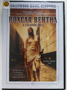 Boxcar Bertha DVD 1972 A Lázadók ökle / Direced by Martin Scorcese / Starring: Barbara Hershey, David Carradine, Barry Primus (5999546333251)