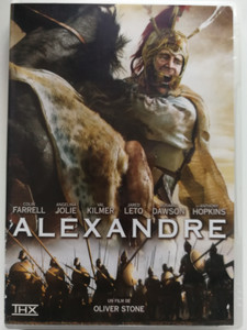 Alexander DVD 2004 Alexandre / Directed by Oliver Stone / Starring: Colin Farrell, Angelina Jolie, Val Kilmer, Anthony Hopkins (3388334570015)