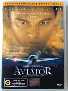 The Aviator DVD 2004 Aviátor / Directed by Martin Scorsese / Starring: Leonardo DiCaprio, Cate Blanchett, Kate Beckinsale, John C. Reilly (5996357342618)