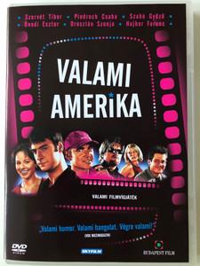 Valami Amerika DVD 2002 / Directed by Herendi Gábor / Starring: Pindroch Csaba, Szabó Győző, Hujber Ferenc, Szervét Tibor, Ónodi Eszter, Oroszlán Szonja, Tompos Kátya, Csuja Imre (5999544249004)
