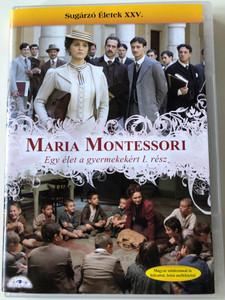 Maria Montessori - Una vita per i bambini 1 DVD Maria Montessori egy élet a gyermekekért I. rész / Directed by Gianluca Maria Tavarelli / Starring: Paola Cortellesi, Massimo Poggio, Gian Marco Tognazzi (5999883203477)
