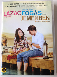 Salmon fishing in the Yemen DVD 2011 Lazacfogás jemenben / Directed by Lasse Hallström / Starring: Emily Blunt, Ewan McGregor, Kristin Scott Thomas (5999075603573)