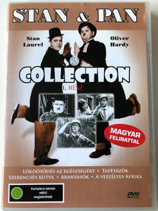 Stan Laurel & Oliver Hardy Collection 1 DVD 1923 Stan & Pan Collection 1. Rész / Directed by Ralph Cedar, Jess Robins, Frank Terry / Starring: Stan Laurel, Oliver Hardy (5999544560901)