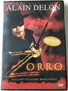 Zorro 1975 DVD / Directed by Duccio Tessari / Starring: Alain Delon, Ottavia Piccolo, Enzo Cerusico, Moustache Giacomo (5999553601817)