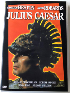Julius Caesar DVD 1970 / Directed by Stuart Burge / Starring: Richard Chamberlain, Robert Vaughn, Diana Rigg, Sir John Gielgud (5996051280049)