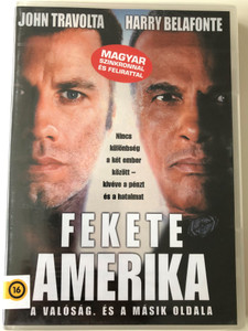 White Man's Burden 1995 DVD Fekete Amerika / Directed by Desmond Nakano / Starring: John Travolta, Harry Belafonte, Tom Bower, Margaret Avery (5999881066883)